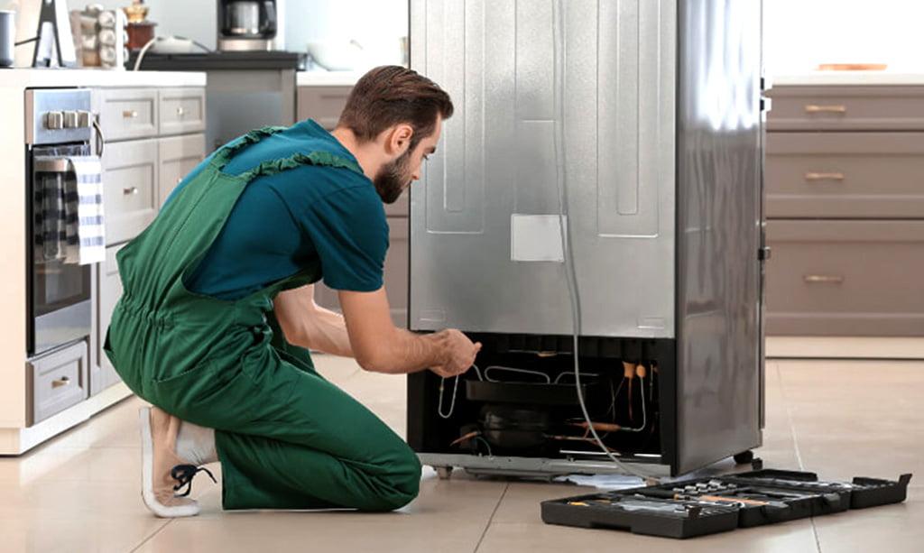 تعمیر یخچال در منزل