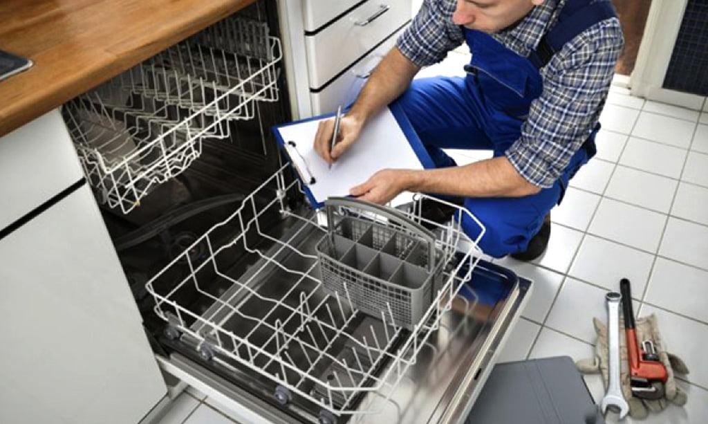 تمیز نشستن ظرفشویی