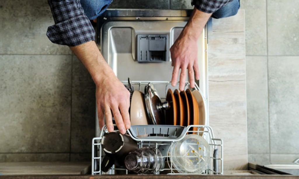 نشت نمک در ماشین ظرفشویی