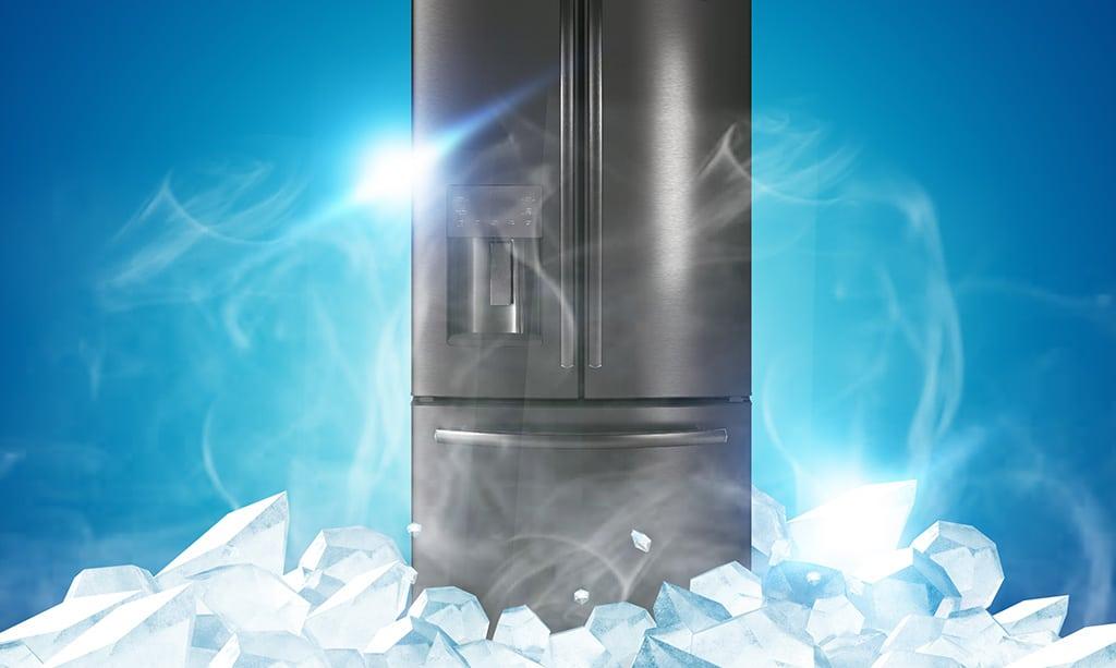 یخ زدن لوله پشت یخچال