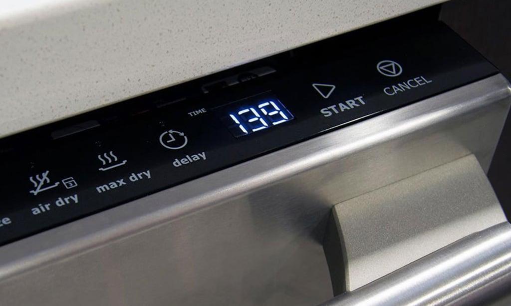 معنی کلمات روی ماشین ظرفشویی بوش