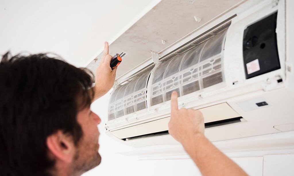 تنظیم باد گرم کولر گازی