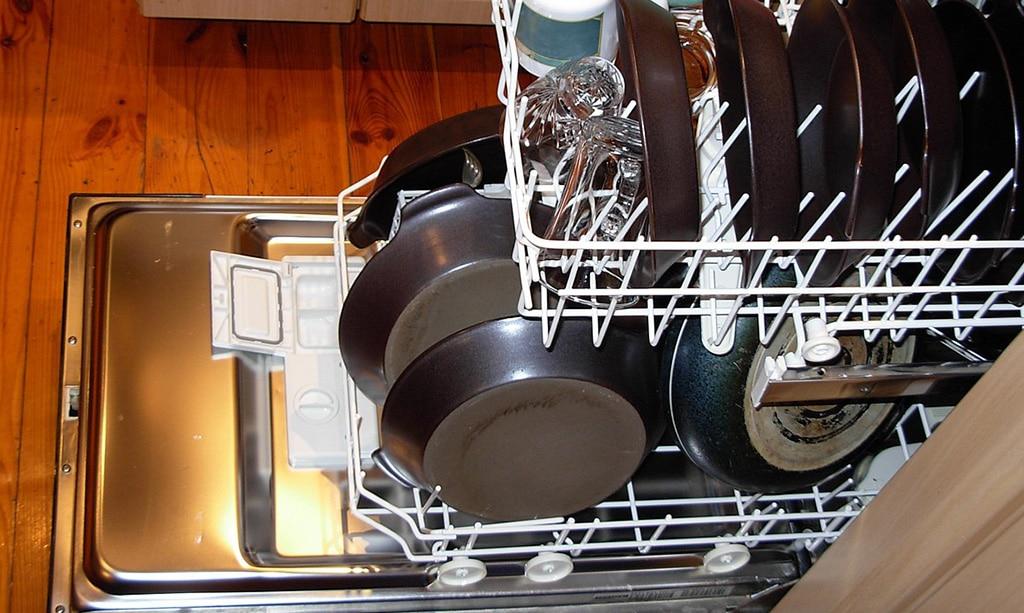 چرا ماشین ظرفشویی صدا میدهد