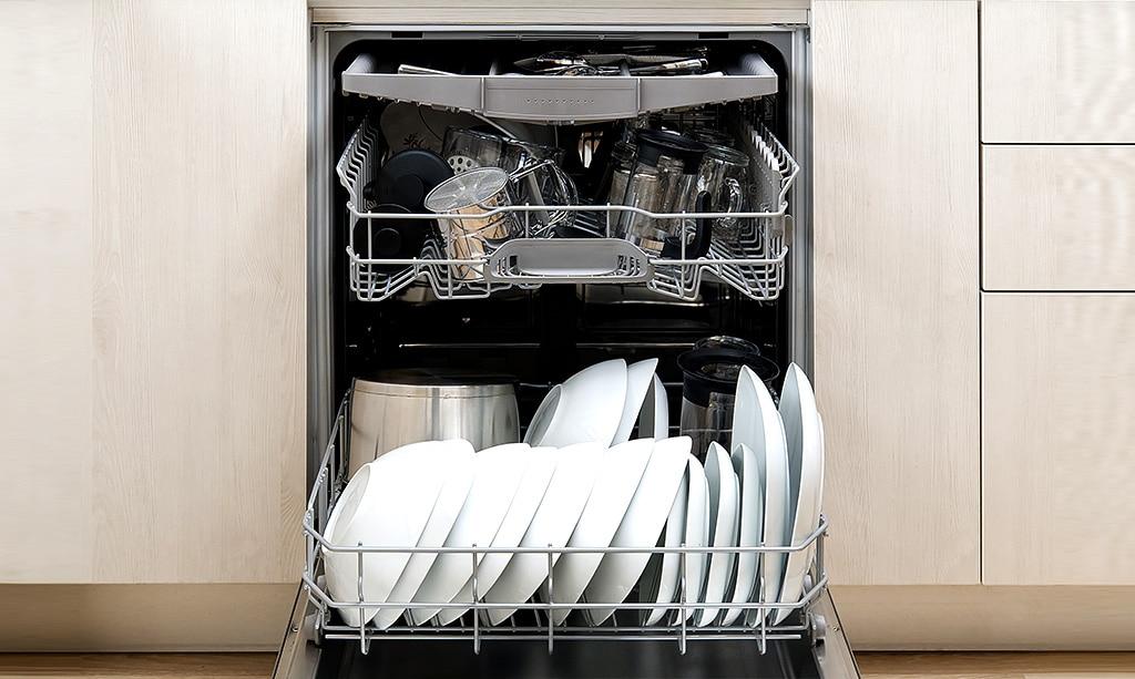 چرا ماشین ظرفشویی کدر میشوره