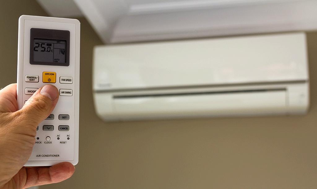 گرمایش کولر گازی چقدر است