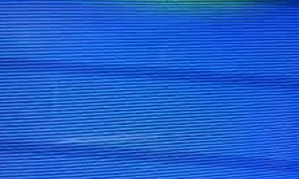 علت ابی شدن صفحه تلویزیون