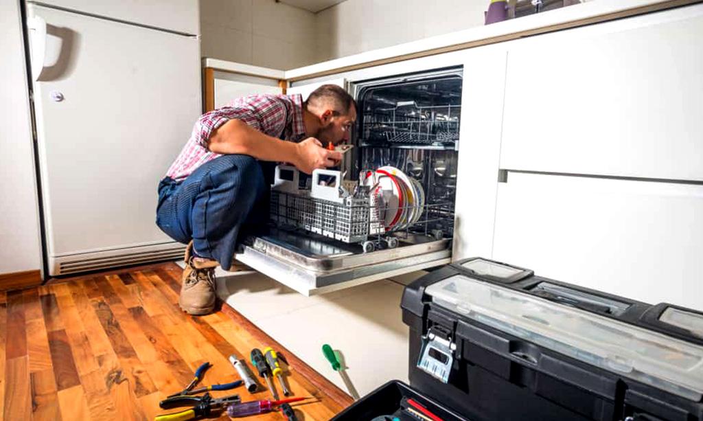چرا آب وارد ماشین ظرفشویی نمی شود