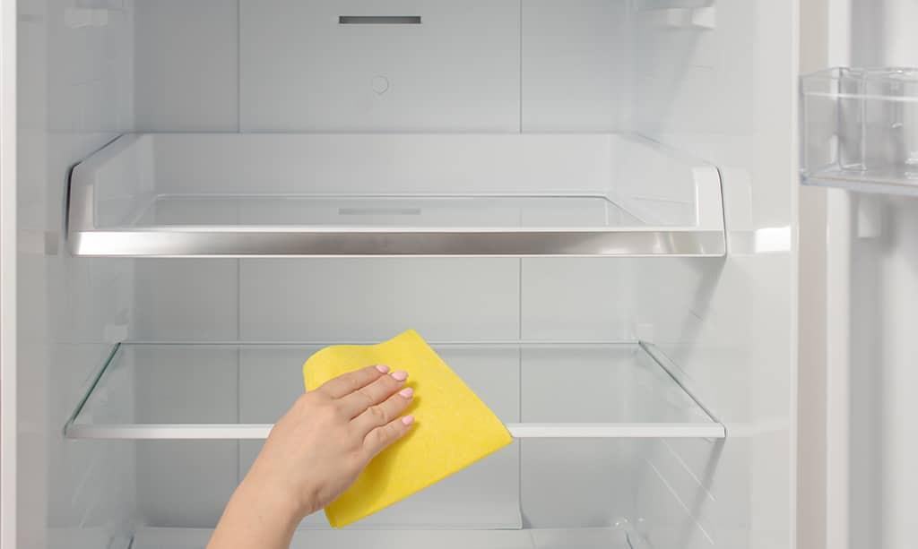 از برق کشیدن یخچال به مدت طولانی