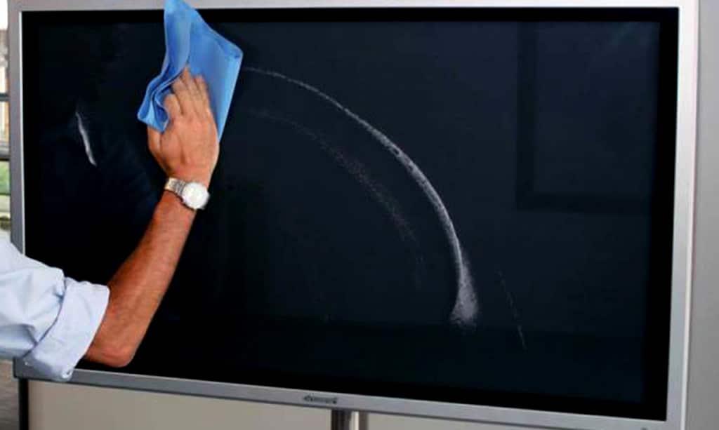چگونه تلویزیون را تمیز کنیم