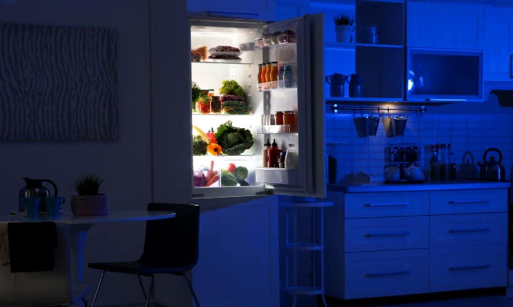علت سوختن لامپ یخچال