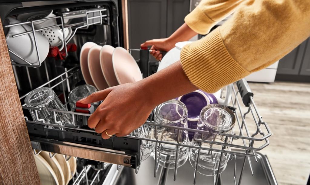 چرا ماشین ظرفشویی سامسونگ تمیز نمیشوره