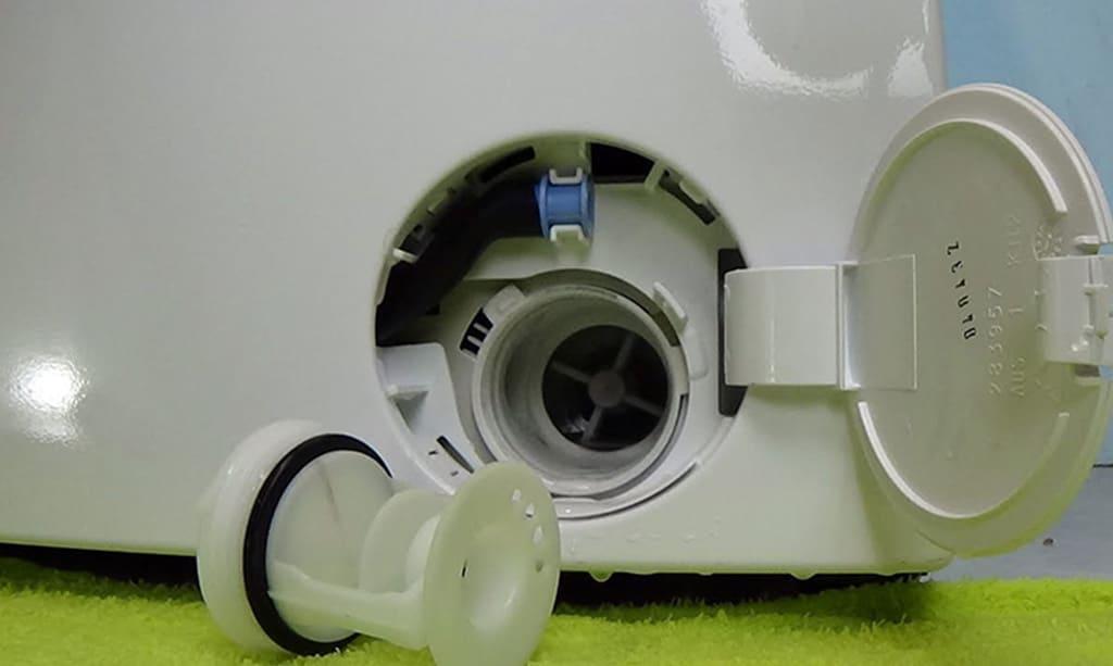 چگونه فیلتر ماشین لباسشویی را تمیز کنیم