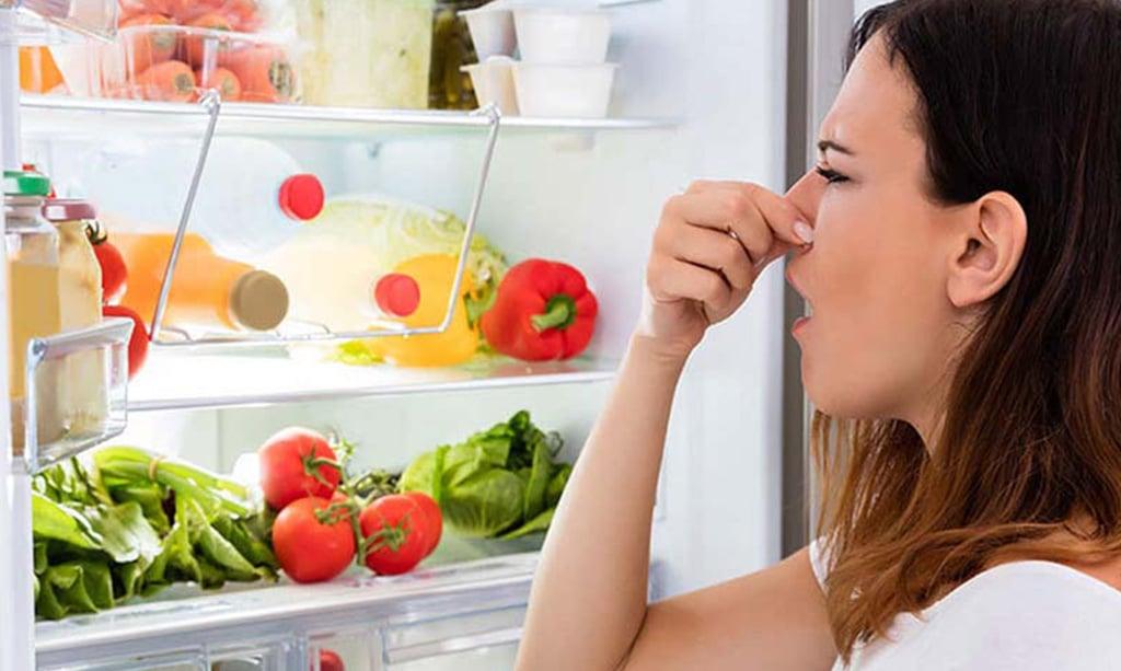 راه از بین بردن بوی یخچال