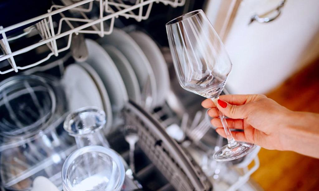 علت کثیف شستن ماشین ظرفشویی دوو